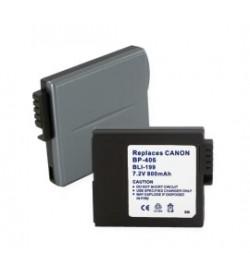 Canon BP-407, BP-412 7.4V 600mAh batteries
