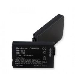 Canon BP-308, BP-308S 7.4V 850mAh batteries