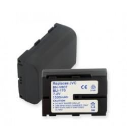 Jvc BN-V607, BN-V607U 7.2V 1450mAh batteries