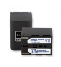 Samsung SB-L220 7.2V 2800mAh batteries