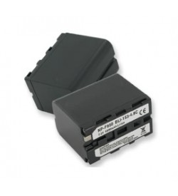 Sony NP-F950, NP-F960 7.2V 6000mAh batteries
