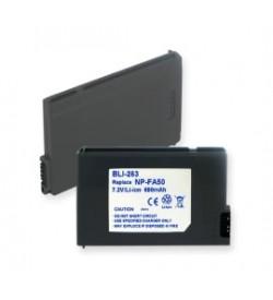 Sony NP-FA50 7.2V 680mAh batteries