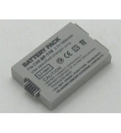 Canon BP-110 3.7V 1050mAh replacement batteries