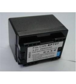 Canon BP-727, BP-718 3.6V 2680mAh replacement batteries