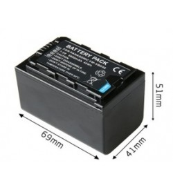 Panasonic VW-VBD58, VW-VBD78 7.2V 5800mAh replacement batteries