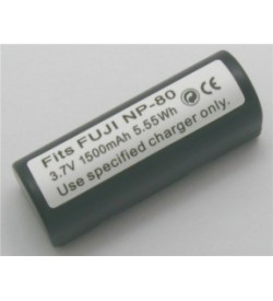 Ricoh DB-20, NP-80 3.7V 1400mAh replacement batteries