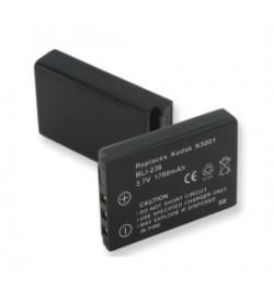 Kodak KLIC-5001 3.7V 1700mAh batteries