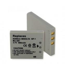 Samsung SLB-0837, NP-1 3.7V 820mAh replacement batteries