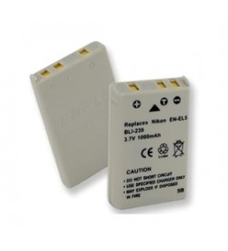 Nikon EN-EL5, CP1 3.7V 1100mAh batteries