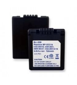 Panasonic CGA-S001E, CGA-S001 3.6V 680mAh batteries