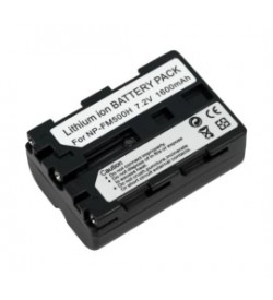 Sony NP-FM55H 7.2V 1600mAh batteries