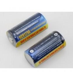 Kodak CR123, CR-123 3V 500mAh replacement batteries