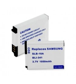 Samsung SLB-10A, 4302-001221 3.7V 1050mAh replacement batteries