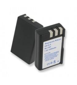 Nikon EN-EL9 7.4V 1000mAh batteries
