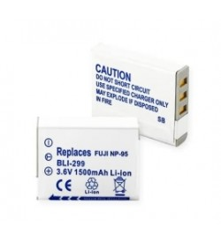 Fujifilm NP-95, DB-90 3.7V 1800mAh replacement batteries