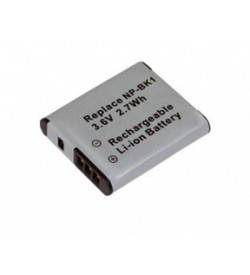 Sony NP-BK1 3.6V 750mAh replacement batteries