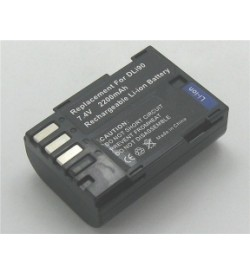 Pentax D-LI90, D-LI90P 7.2V 1860mAh replacement batteries