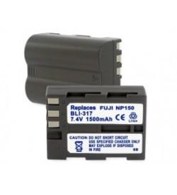 Fujifilm NP-150 7.4V 1500mAh replacement batteries