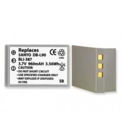 Sanyo DB-L90 3.7V 960mAh replacement batteries