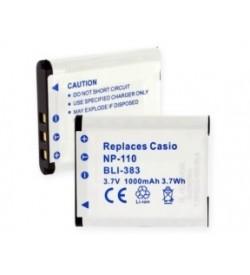Casio NP-110 3.7V 1000mAh original batteries