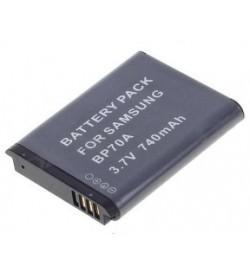 Samsung BP-70A, BP70A 3.7V 740mAh replacement batteries