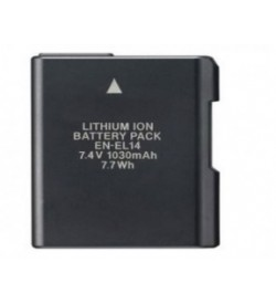 Nikon EN-EL14, EN-EL14A 7.4V 1030mAh replacement batteries