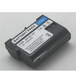 Nikon EN-EL15, EN-EL15A 7.4V 1790mAh replacement batteries