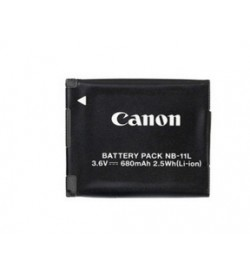 Canon NB-11L 3.6V 680mAh original batteries