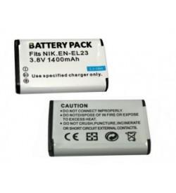 Nikon EN-EL23 3.8V 1400mAh replacement batteries