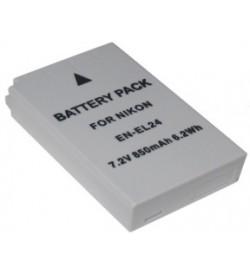 Nikon EN-EL24 7.2V 850mAh replacement batteries