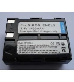 Nikon EN-EL3, EN-EL3a 7.4V 1400mAh replacement batteries