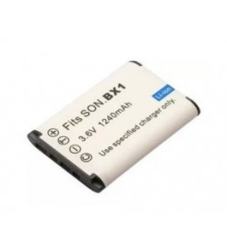 Sony NP-BX1 3.7V/3.6V 1240mAh replacement batteries