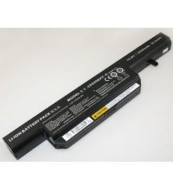 Clevo 6-87-C550S-4PF, C5500BAT-4 CELXPERT 14.8V 2200mAh original batteries
