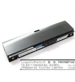 Fujitsu CP345831-02, FMVNBP169 10.8VV 5800mAh original batteries