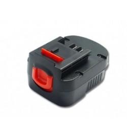 Black & decker FSB12, FS120B 12V 1300mAh replacement batteries