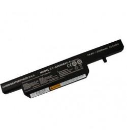 Clevo 6-87-C550S-4YF, C5500BAT-4 11.1V 5200mAh original batterie